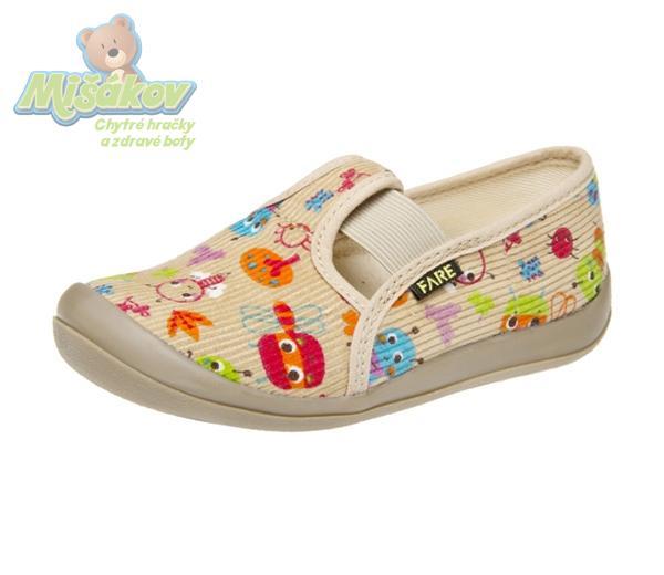 3823e13308 FARE dětská domácí obuv 4111485